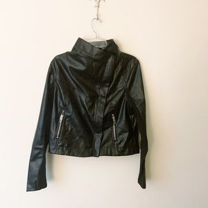 NWT Blank NYC Classic Faux Leather Moto Jacket